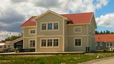 Färdigt Villa Varm